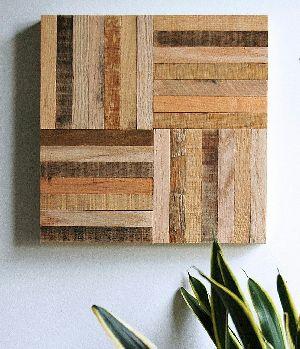 Abstract Wood Wall Art 02