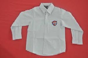 Boys Full Sleeves School Shirt