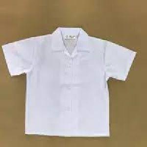 Boys Half Sleeves School Shirt
