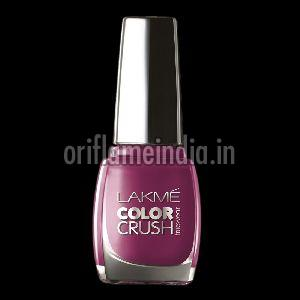 Lakme Color Crush Purple Nail Paint