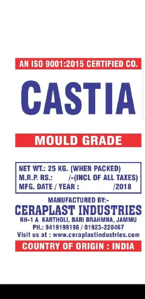 Mould Pottery Grade Plaster of Paris