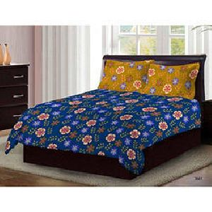 Bombay Dyeing Axia Cotton Double Bedsheet Set