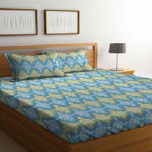 Bombay Dyeing Cynthia Polycotton Double Bedsheet Set