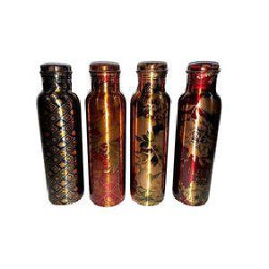 Copper Printed Bottles