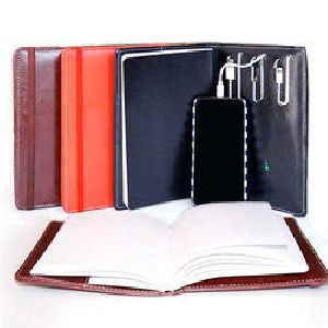 Power Bank Leather diary