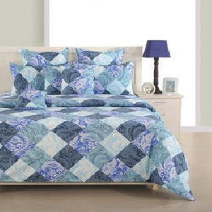 Swayam 144 TC Cotton Double Bedsheet Set