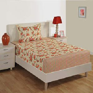 Swayam Cotton Single Bedsheet Set