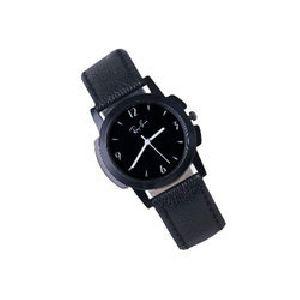Leather Strap Wrist Watch