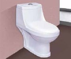 One Piece  Round Commode