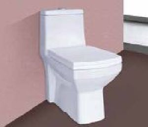 One Piece Square Commode