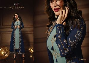 10081 Karma Jacket Style Designer Salwar Suit