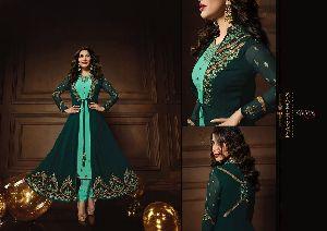 10083 Karma Jacket Style Designer Salwar Suit