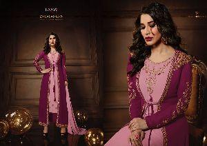 10084  Karma Jacket Style Designer Salwar Suit