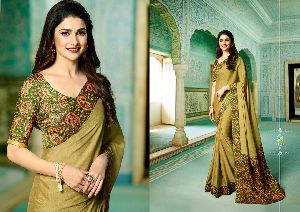 19145 Vinay Starwalk vol 34 Satin Georgette Saree
