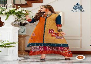 3001 Kajal Style DIVA vol 3 Reyon Kurti