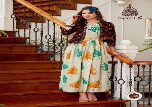 303 Kajal Style DIVA vol 3 Reyon Kurti
