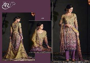Kimora heer 29 Modal Silk Art Emb. Salwar Suit 05