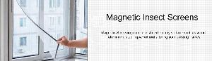 Magnetic Mosquito window screens