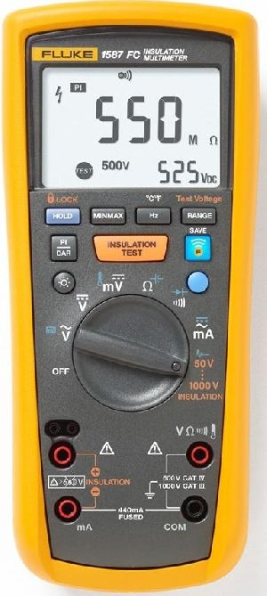 Fluke Handheld Insulation multimeter
