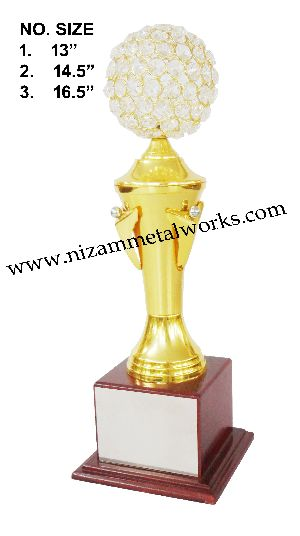 Crystal Fancy Trophy