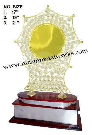 Crystal Plate Trophy