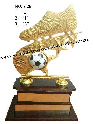 Football Metal Trophy