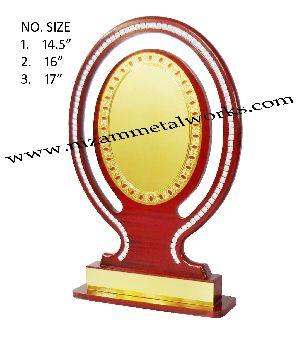Oval Wooden Memento