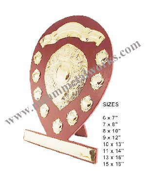 Wooden Sports Shield