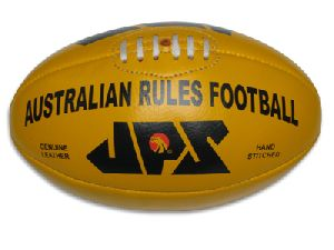 Genuine Leather Aussie Rules Football