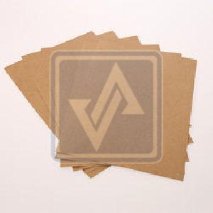Brown Test Liner Paper Sheets