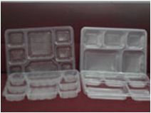Disposable Plastic Containers MILS TRAY