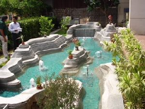 Water Fountain Landscaping 03