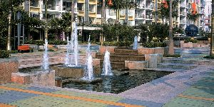 Water Fountain Landscaping 06