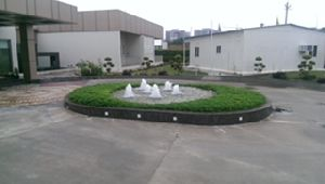 Water Fountain Landscaping 08