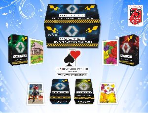100% Pure Plastic Playing Cards (Duster)