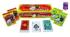 Club Quality Playing Card (Black & White)