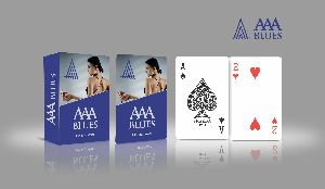 Corporate Playing Card (AAA Blue)