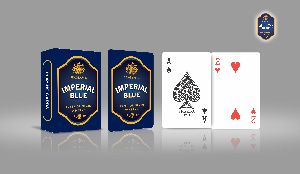 Corporate Playing Cards (Imperial Blue)