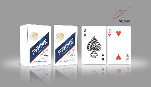 Corporate Playing Cards (Prime Vodka)
