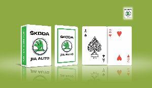 Corporate Playing Cards (Skoda Car)