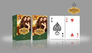 Custom Printed Playing Cards (Royal King)