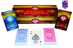 Premium Quality Playing Card (Diamond Gold)
