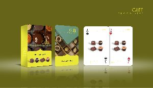 Promotional Playing Cards (Glee Chocolates)