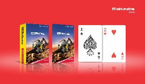 Promotional Playing Cards (Mahindra Rise)