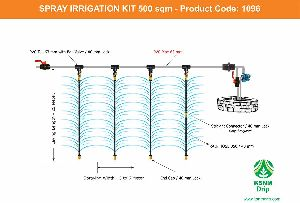 SPRAY IRRIGATION KIT - 500 Sqm
