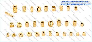 Brass Left Right Knurling Inserts