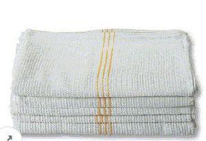 Center Color Stripe Bar Mop Kitchen Towel