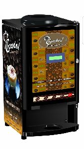 Chocodew 3 & 4 Lane Coffee Vending Machine