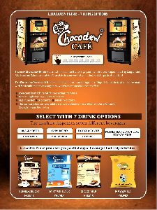 Chocodew Prime Coffee Vending Machine