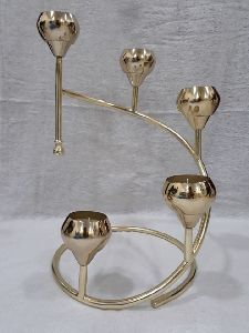 decorative metal candle holder.